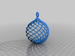 Repaired Bauble (Christmas tree ball)