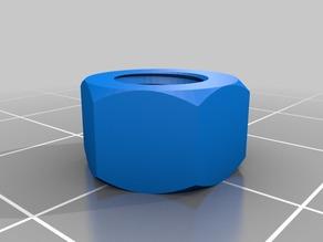 M6 x6mm nut 7 mm outer diameter