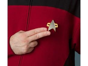 Star Trek Voyager Combadge
