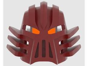 The Kanohi Jutlin, Great Mask of Corruption (Un-Shapeshifted)