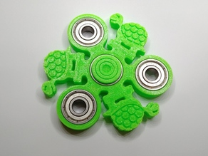 Turtle Fidget Spinner