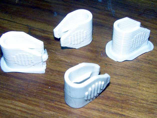 Cable Tidy Clip By Nglasson Thingiverse