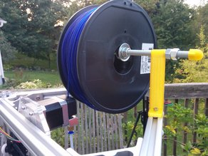 Folger Tech Kossel 2020 top mount spool holder