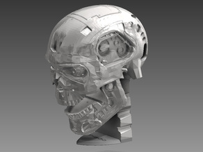 T-800 Terminator Exoskull moveable
