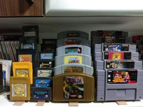cartridge stand for retrogame