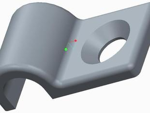Coax Cable Clip