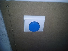 Ajustable rotary knob