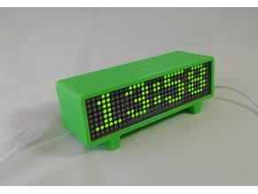 Dot Matrix Digital Clock