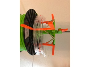 Loose Filament Spool Enhancement (based on the Spool Wall Mount)
