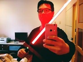 Star Wars Lightsaber use LED string