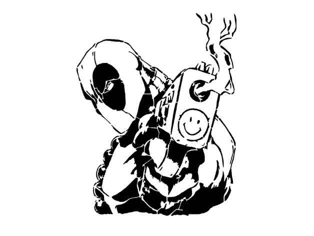 Comments For Deadpool Stencil 8 By Longquang Thingiverse