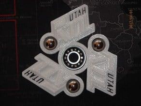Utah Jazz Fidget Spinner - Wingnut2k