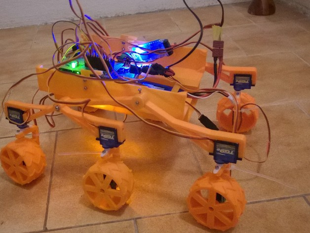 mars rover thingiverse - photo #3