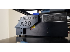 Geeetech A30 SD card reader holder