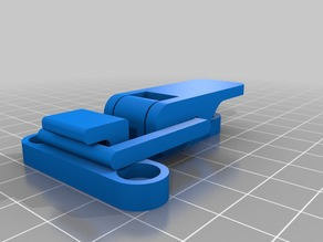 Pre-assembled Lever Latch for 3D Printer enclosure