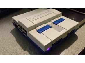 Mini-SNES 5mm LED holder (and wiring)