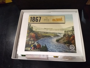 1867: The Railways of Canada boardgame boxes