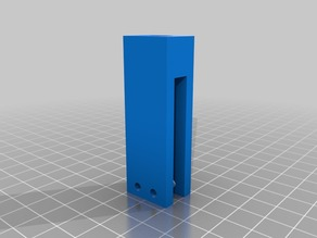 Spool holder for Prusa i3 with 7mm thick metal frame