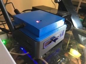 Intel NUC DMX 2.4GHz Transmitter Top