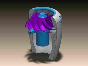 turbina reactor electrico