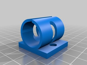 lm10uu y-axis bearing holder for single-sheet Prusa i3