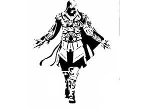 AC Ezio stencil 2