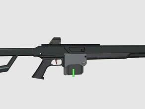 Sci-Fi Sniper Rifle prop