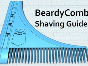 An Open Source Beard Comb Tool