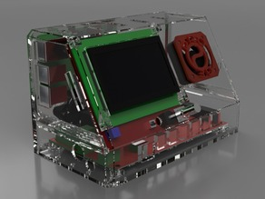 Cabinet for MKS Gen 1.4 and Raspberry PI Combo