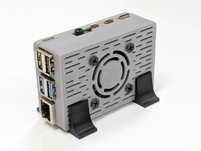 Raspberry Pi 4 case (40mm or 30mm fan)