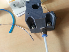 Bowden extruder based on compact extruder