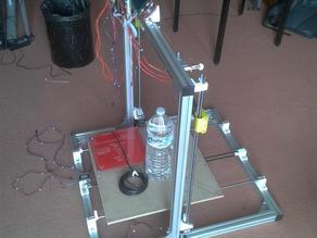 Prusa i3 Aluminium Rework