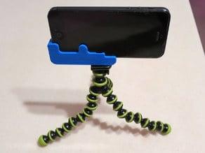 iPhone 5 tripod holder