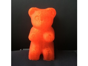 Voxelized Gummy Bear