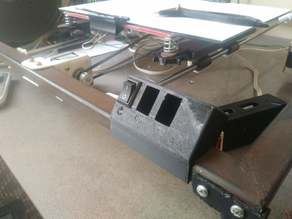 on-off,light,fan,other 4 switch holder for steel body