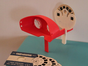 Viewmaster reel viewing stereoscope accessory