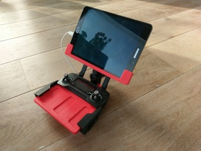 DJI Mavic Pro: Yet Another Tablet Holder (Yath)
