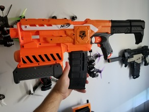 Nerf Battery Stock Demolisher and Stryfe
