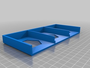 catan card holder (14-16mm) - editable height sk file