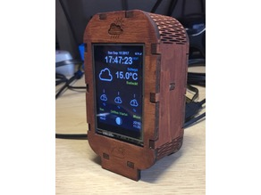 Squix ESP8266 WiFi Color Display Weather Station Enclosure