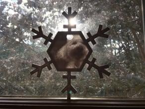 Snowflake Lithophane Frame