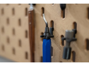 holder series for IKEA skadis pegboard