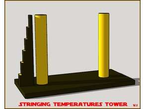 Retraction Temps Tower  Calibration