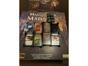 Mansions of Madness: Card and Clue Tray