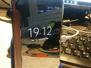 Samgsung Galaxy S6 car charging dock with wireless chargin pad