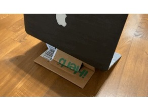 Laptop Stand (Cardboard Made)