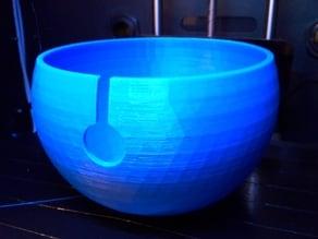 Subtle Poly Yarn Bowl