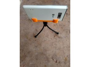 Ultra Simple Tripod Phone Holder
