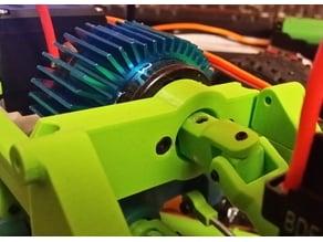 3,2mm Shaft Motor U-Joint for 3D Printed Rc Truck V4 by MrCrankyface