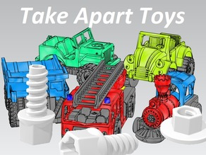 Bolts & Nuts - Take Apart Toys